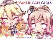 アメリカンガールズ!サラトガ&アイオワ☆