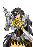 女騎士主人公