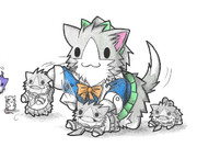 メカプラモルと夕張ネコ