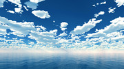 【MMDステージ配布】白雲の青空 TM2【スカイドーム】