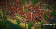 【Minecraft】ミニチュアっぽい住宅街