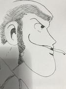 【描いてみた】ルパン三世
