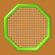 八角形の網2