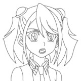 アクファ柚子線画