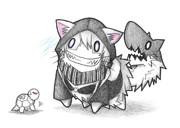 ベンジャミン提督とレ級ネコ