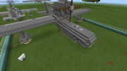 【Minecraft】飛行艇