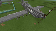 【Minecraft】オリジナルレシプロ戦闘機