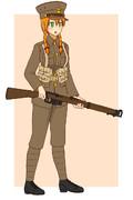 WW1初期のイギリス軍歩兵