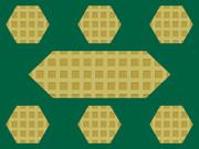 六角形のウェハース2