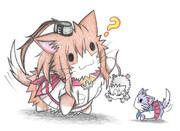ネズミ提督とサラトガネコ