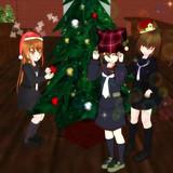 文月トリオとクリスマス!