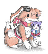 ネズミ提督とサラトガ犬と酒匂ネコ