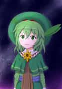 【東方自然癒】夜空の下の葉っさん
