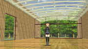 【MMD】モダンな美術館風ステージ【ステージ配布】