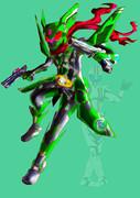 緑の音速(マッハ) ライダー470(シナノ)