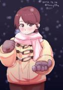 【艦これワンドロ】 白雪と雪の降る夜