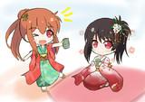 お姉ちゃんとお茶!