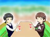 小雪と亜子