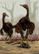北米の羽毛恐竜