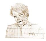 前にサムネにしてた鉛筆描きの人物画