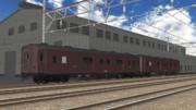 【MMD鉄道】マニ36型荷物用客車【モデル配付】