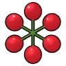 六角形のさくらんぼ