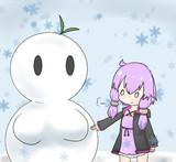ゆかりさんと雪