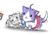 酒匂ネコとメカプラモル