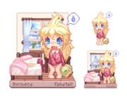 ルシェカの部屋(朝)