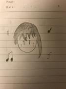 加賀岬を歌う加賀さん