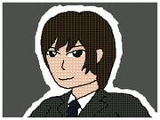 うごメモ3Dで馬鹿のDAIKIさんを描いてみた。