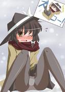 雪道ズッコケ蓮子