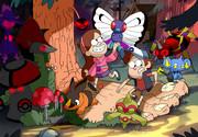 もしディズニーアニメ「怪奇ゾーン グラビティフォールズ」の世界にポケモンがいたら