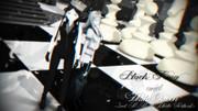 黒の王と白の女王【第二回MMD静止画祭】
