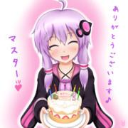 ゆかりさん!お誕生日おめでとう!!ケーキ作ったよ♪