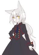 ケモ耳軍服ワンピ
