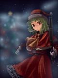 ハッピークリスマス!ゆうかサンタよ!