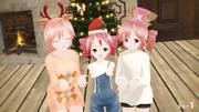 プレゼントちょーだい!w【KASANE sisters】