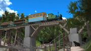 林鉄の木橋