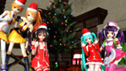 【我が家のボカロ組】Merry Christmas! 2016【MikuMikuDance】