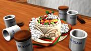ケーキ入糖