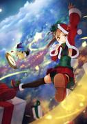 大鳳サンタがみんなにプレゼントを贈るわ!
