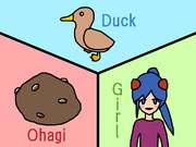 DOG (Duck, Ohagi, Girl)