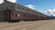 【MMD鉄道】マニ36・マニ37型荷物用客車セット【モデル配付】