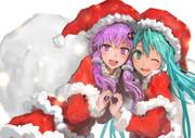 ミクとゆかりでメリークリスマス!