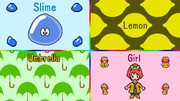 SLUG (Slime, Lemon, Umbrella, Girl)