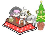 クリスマスこたつ鯖