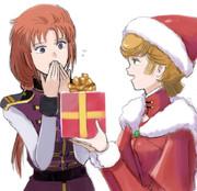 ミネバ様&マリーダ中尉@クリスマスプレゼント