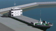 【MMD】貨物船【MMDモデル配布】