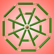 鉛筆の八角形2